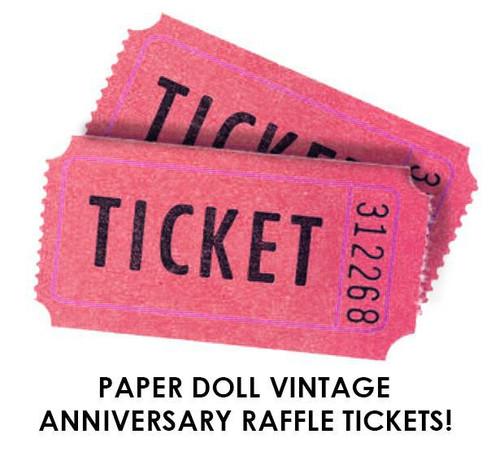 $5 Anniversary Raffle Ticket