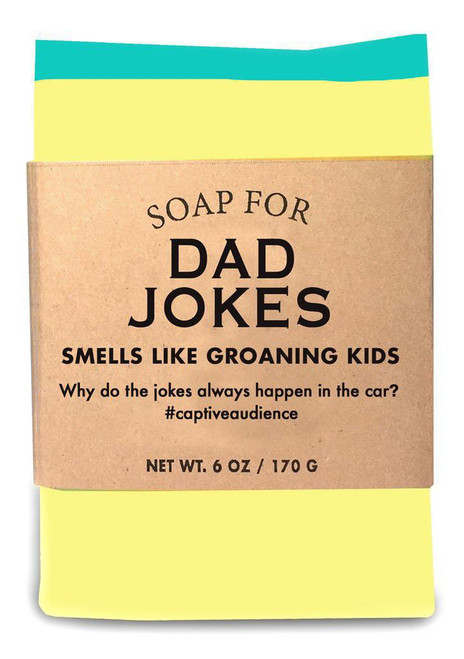 A Soap for DAD JOKES