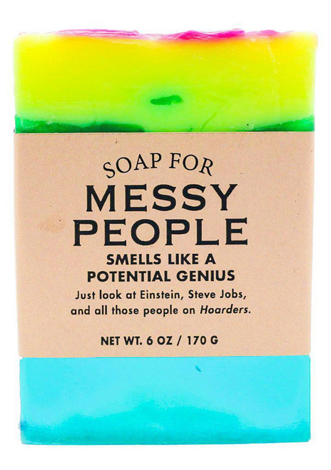 A Soap for MESSY PEOPLE