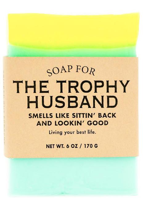 A Soap for TROPHY HUSBANDS