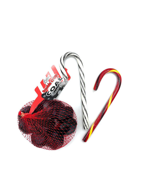 Krampus Candy Canes & Chocolate Coal Candy Bundle