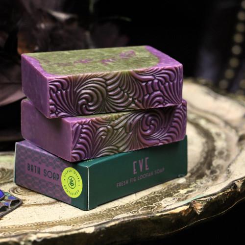 Fresh Fig Loofah Scrub Soap