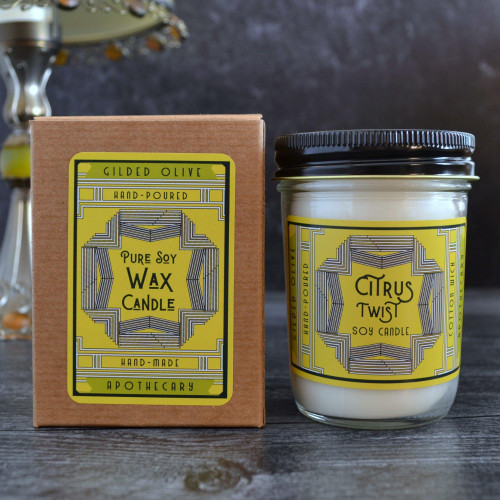 Soy Candle - Citrus Twist