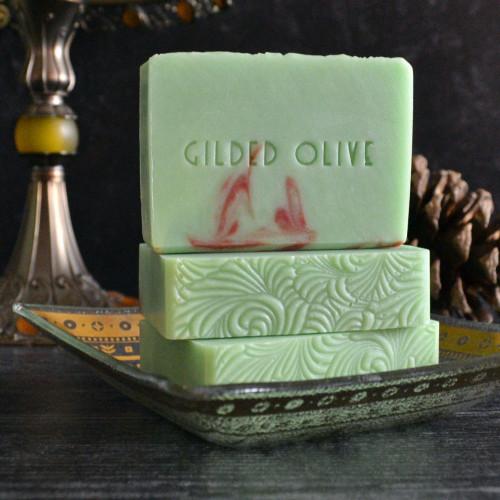 Apple Cranberry Handmade Soap
