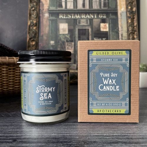 Stormy Sea Soy Wax Candle