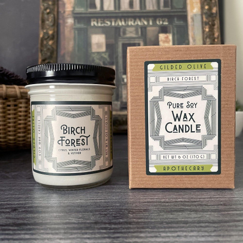 Birch Forest Soy Wax Candle