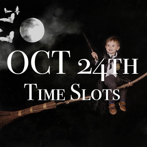 OCT 24th Halloween Photo Session Time Slots