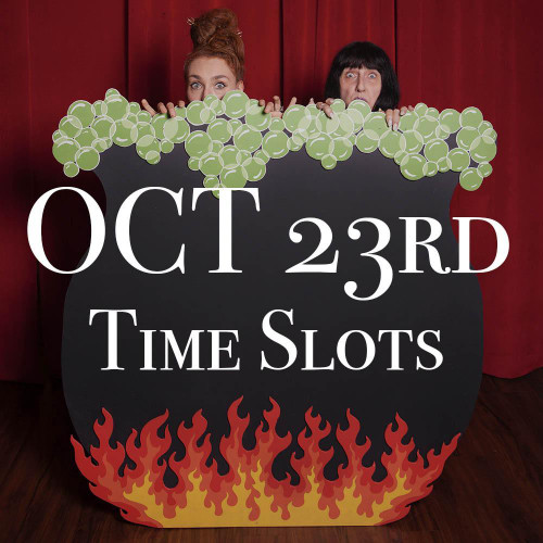 OCT 23rd Halloween Photo Session Time Slots