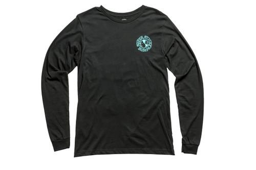 Stick Bumps Long Sleeve T-Shirt Global Logo | Black