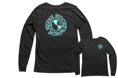 Stick Bumps Long Sleeve T-Shirt Global Logo | Black
