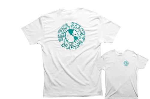 Sticky Bumps Short Sleeve T-Shirt | Global White