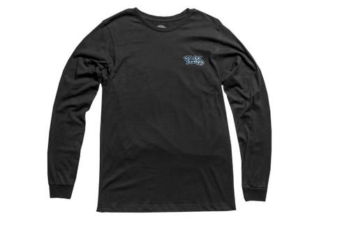 Stick Bumps Long Sleeve T-Shirt Warehouse to Waves | Black