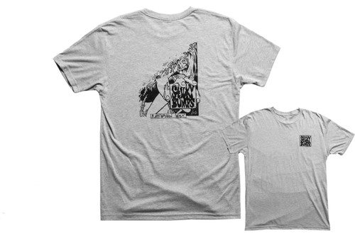 Sticky Bumps Short Sleeve T-Short | Zombie Grey