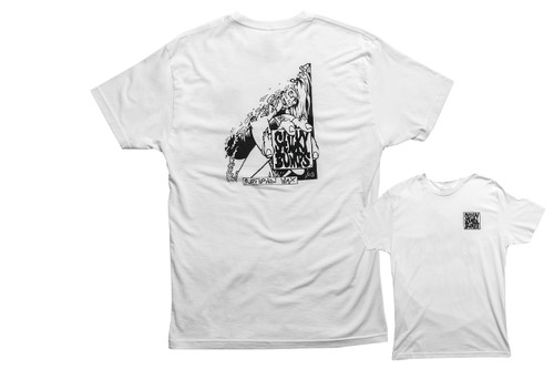 Sticky Bumps Short Sleeve T-Shirt | Zombie Bob White