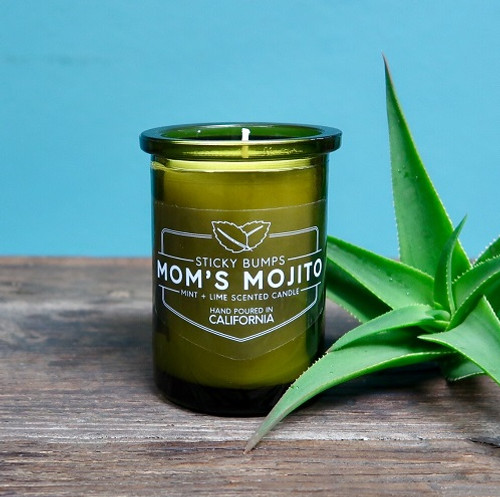 moms mojito 5oz candle lime mint scent
