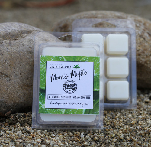 moms mojito 2.5 wax melt lime mint scent