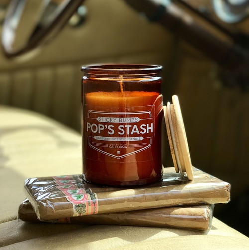 pops stash 10 ounce candle bayberry scent
