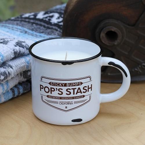 pops stash 10 ounce candle mug