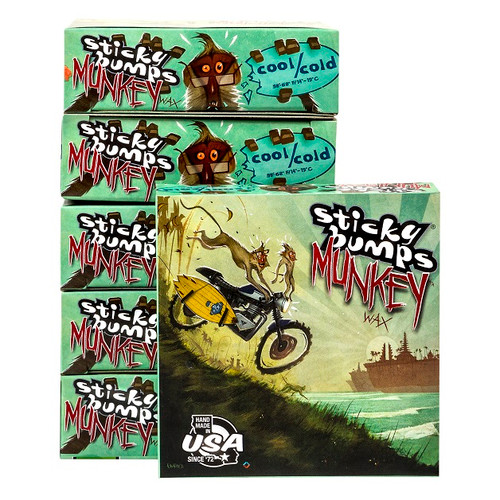 sticky bumps munkey stickier wax cool cold water temp 6 pack