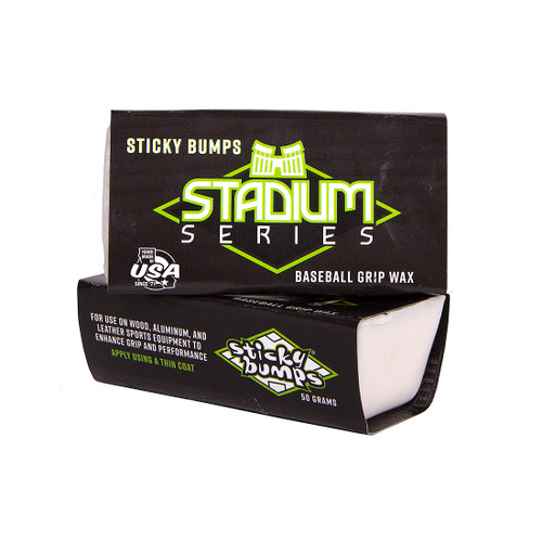 sticky bumps stadium series baseball grip wax