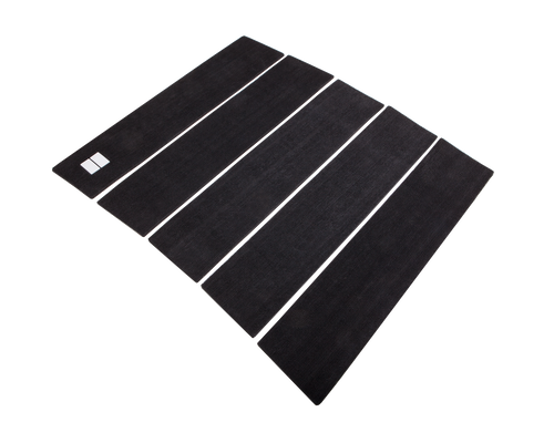 black 5 piece front traction pad