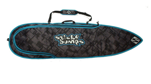 BLOCK PRINT | BLACK and BLUE SINGLE DAY THRUSTER BAG