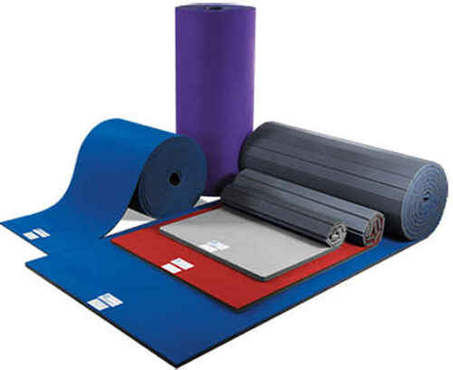 Carpet Bonded Foam rolls are available in a variety of sizes and colors.