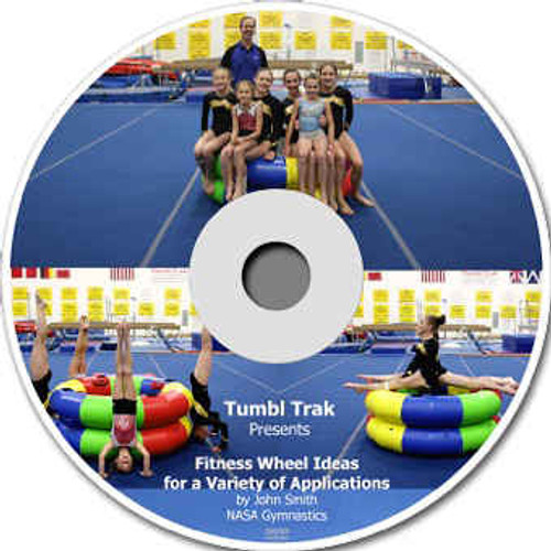 Fitness Wheel Digital Download Video
