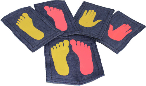 Set of Velcro Hands and Feet.