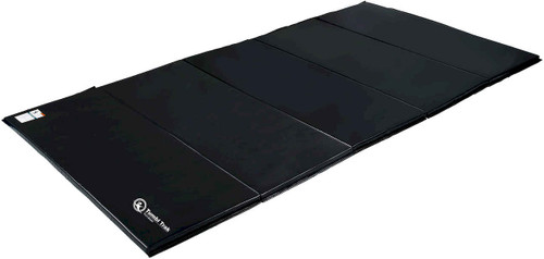 5ft x 10ft Black Mat with 4 sided Velcro