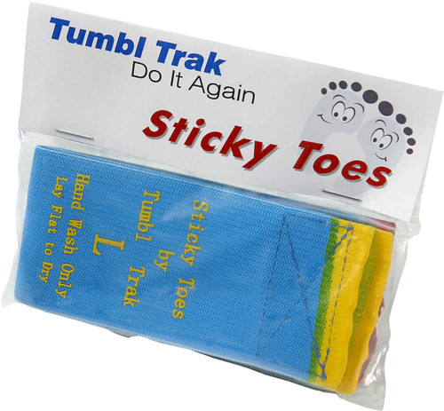 Sticky Toes in the packaging