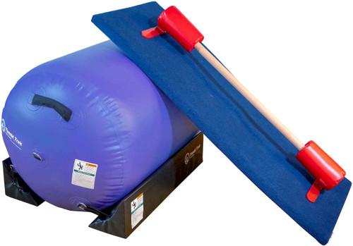 The Air Barrel Bundle 2 includes an Air Barrel, Cradles, Floor Bar and carpet Build-a-Mat.