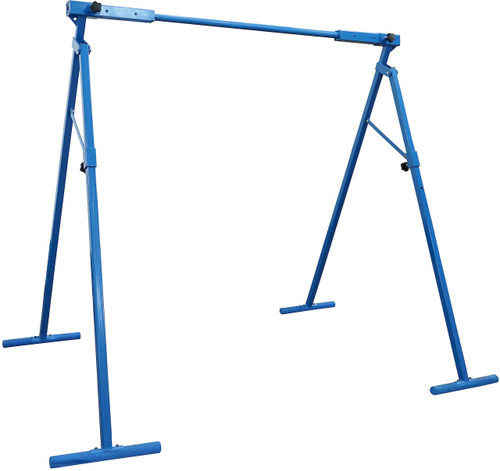 The A-Frame stand can be used to suspend swings, rings and more.