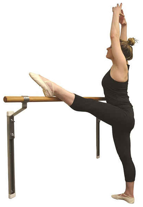 Adjustable Single Wall Mounted Ballet Barres