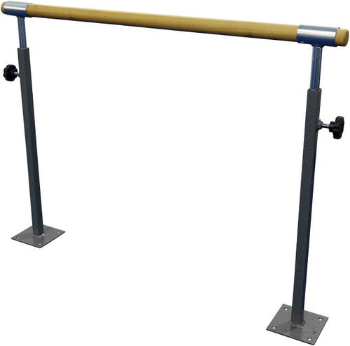 Single Floor Mounted Ballet Barre