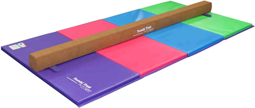 Addie Beam shown on a 4ft x 8ft Tumbling Mat.