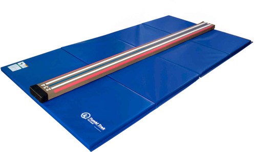 The Laser Beam Lite and 4 ft x 8 ft Tumbling Mat Bundle
