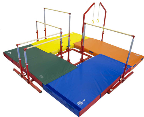 Just for Kids Circuit with matting.