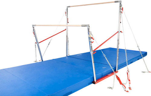 Competition Uneven Bars for women's gymnastics.