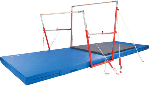 Uneven Training Bars for recreational gymnastics.