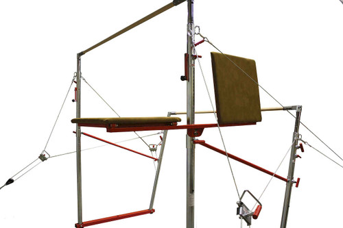 A Spotting Platform for your uneven bars.