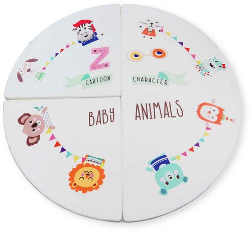 The Circle Mat is a great place to play and get important tummy time!