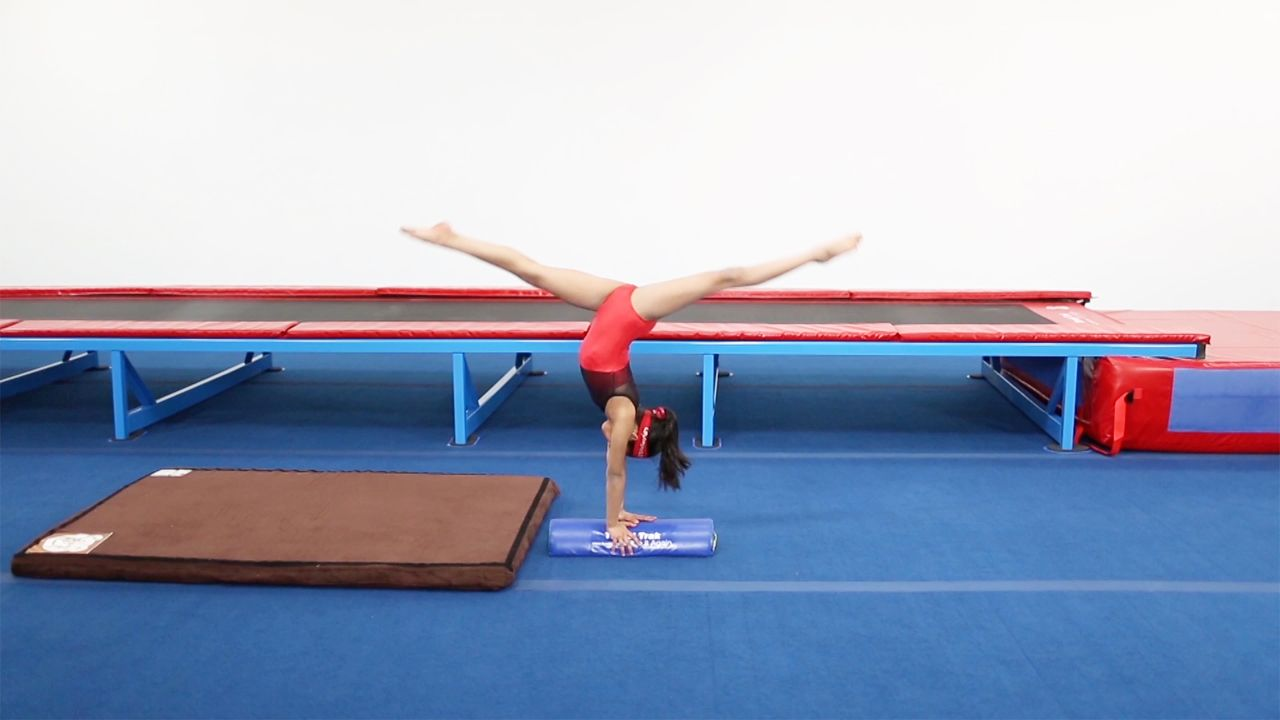 Play Video - Back Walkover using Half Rounds