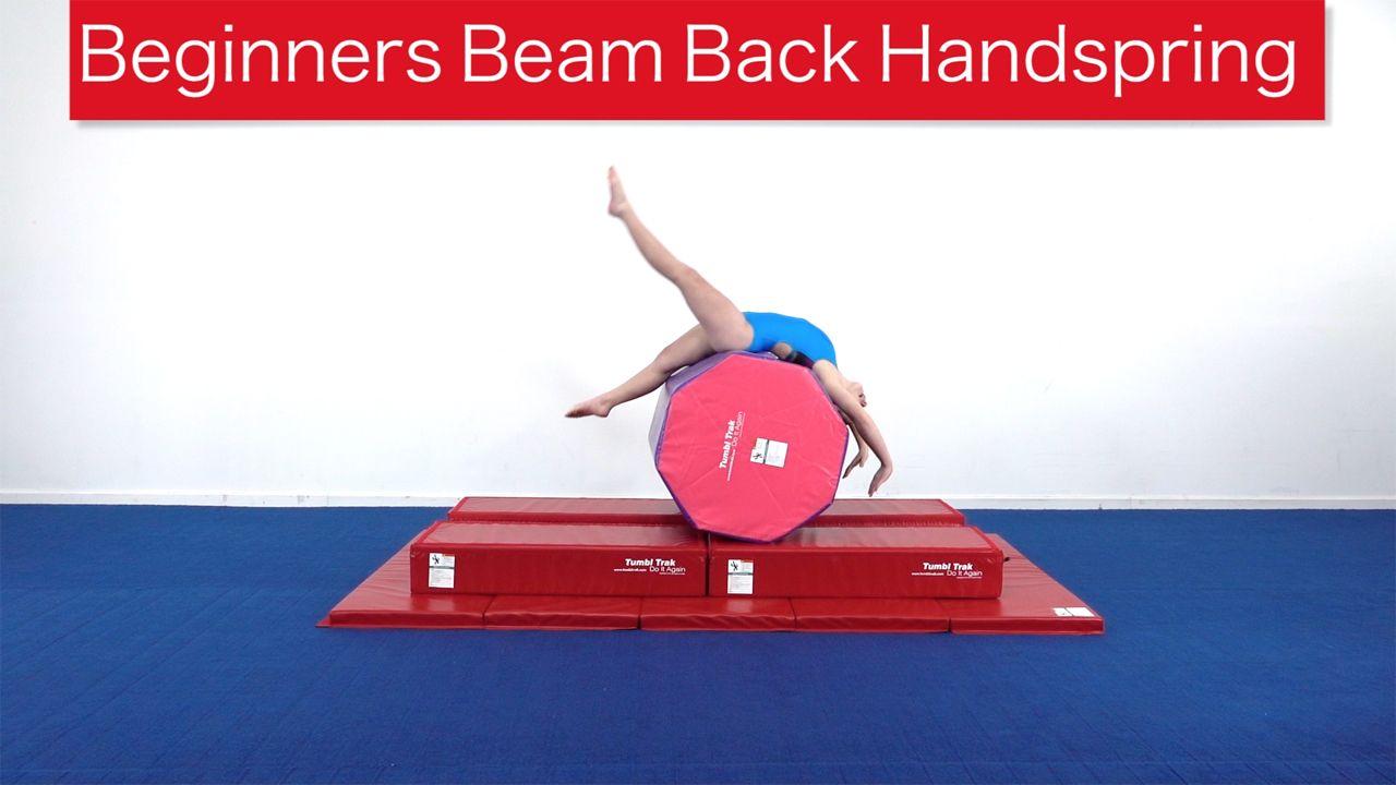 Play Video - Beginners Beam Back Handspring