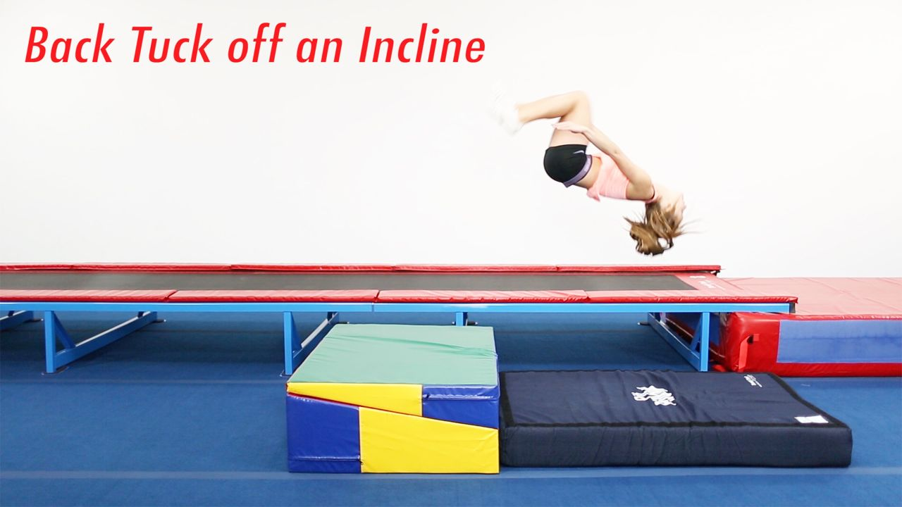 Play Video - Back Tuck Off an Incline