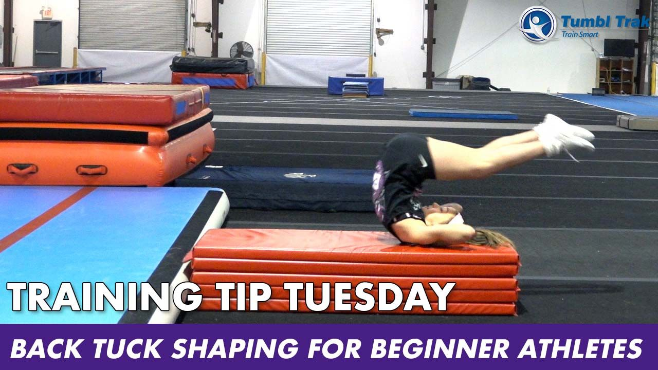 Play Video - Back Tuck Shaping for Beginner Athletes