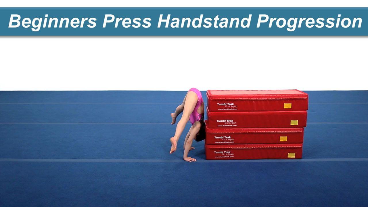 Play Video - Beginners Press Handstand Progression