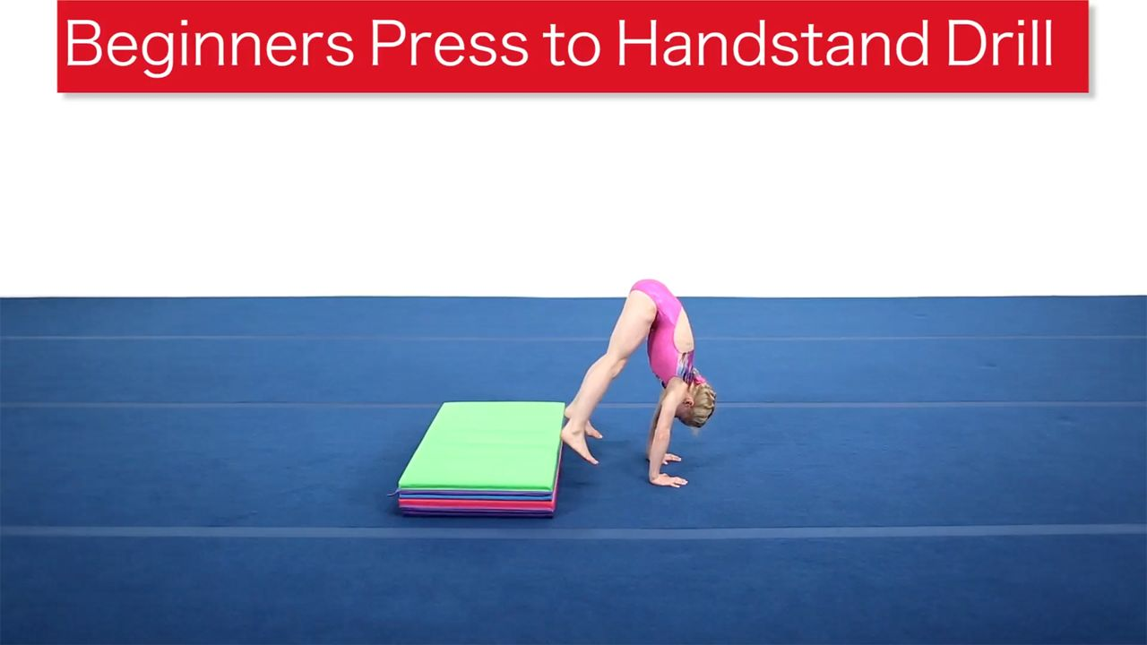 Play Video - Beginners Press to Handstand Drill