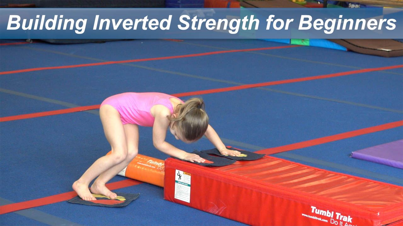 Play Video - Building Inverted Strength for Beginners