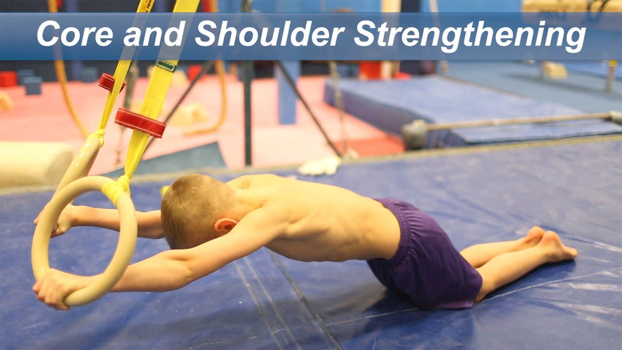 Play Video - Core and Shoulder Strengthening
